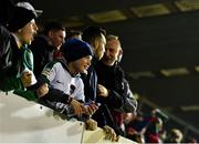 22 February 2019; Young Cork City supporters during the SSE Airtricity League Premier Division match between Cork City and Waterford at Turners Cross in Cork. Photo by Eóin Noonan/Sportsfile