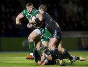 22 February 2019; Peter Robb of Connacht is tackled by Brandon Thomson of Glasgow Warriors during the Guinness PRO14 Round 16 match between Glasgow Warriors and Connacht at Scotstoun Stadium in Glasgow, Scotland. Photo by Ross Parker/Sportsfile