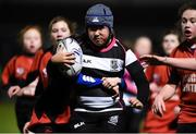 22 February 2019; Action from the Half-Time Minis game between New Ross RFC and Old Belvedere RFC at the Guinness PRO14 Round 16 match between Leinster and Southern Kings at the RDS Arena in Dublin. Photo by David Fitzgerald/Sportsfile
