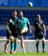 23 February 2019; Rob Kearney during the Ireland Rugby Captain's Run at the Stadio Olimpico in Rome, Italy. Photo by Brendan Moran/Sportsfile
