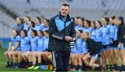 23 February 2019; Dublin manager Mick Bohan before the Lidl Ladies NFL Division 1 Round 3 match between Dublin and Mayo at Croke Park in Dublin. Photo by Ray McManus/Sportsfile