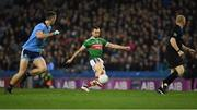 23 February 2019; Keith Higgins of Mayo during the Allianz Football League Division 1 Round 4 match between Dublin and Mayo at Croke Park in Dublin. Photo by Ray McManus/Sportsfile