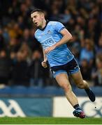 23 February 2019; Cormac Costello of Dublin celebrates after scoring his side's first goal during the Allianz Football League Division 1 Round 4 match between Dublin and Mayo at Croke Park in Dublin. Photo by Daire Brennan/Sportsfile