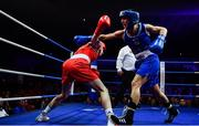 23 February 2019; Dearbhla Duffy, right, in action against Michaela Walsh during their 57kg bout at the 2019 National Elite Men's & Women's Boxing Championships Finals at the National Stadium in Dublin. Photo by Sam Barnes/Sportsfile