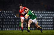 23 February 2019; Michael Newman of Meath is tackled by Kevin Flahive of Cork during the Allianz Football League Division 2 Round 4 match between Cork and Meath at Páirc Ui Rinn in Cork. Photo by Eóin Noonan/Sportsfile