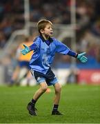 23 February 2019; Jamie Brogan, son of former Dublin footballer Alan Brogan, playing at half-time during the Allianz Football League Division 1 Round 4 match between Dublin and Mayo at Croke Park in Dublin. Photo by Daire Brennan/Sportsfile