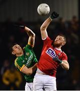 23 February 2019; Killian O'Hanlon of Cork in action against Shane McEntee of Meath during the Allianz Football League Division 2 Round 4 match between Cork and Meath at Páirc Ui Rinn in Cork. Photo by Eóin Noonan/Sportsfile
