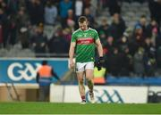23 February 2019; A dejected Colm Boyle of Mayo after the Allianz Football League Division 1 Round 4 match between Dublin and Mayo at Croke Park in Dublin. Photo by Daire Brennan/Sportsfile