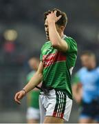 23 February 2019; A dejected Fergal Boland of Mayo after the Allianz Football League Division 1 Round 4 match between Dublin and Mayo at Croke Park in Dublin. Photo by Daire Brennan/Sportsfile