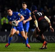 22 February 2019; Noel Reid of Leinster during the Guinness PRO14 Round 16 match between Leinster and Southern Kings at the RDS Arena in Dublin. Photo by Ramsey Cardy/Sportsfile