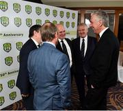 23 February 2019; FAI Chief Executive Officer John Delaney, with FAI Schools National Executives during the FAI Schools 50th Anniversary at Knightsbrook Hotel, Trim, Co Meath. Photo by Seb Daly/Sportsfile