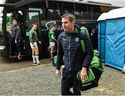 24 February 2019; Fermanagh Manager Rory Gallagher arriving for the Allianz Football League Division 2 Round 4 match between Donegal and Fermanagh at O'Donnell Park in Letterkenny, Co Donegal. Photo by Oliver McVeigh/Sportsfile