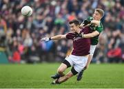 24 February 2019; Antaine O'Laoi of Galway in action against Gavin White of Kerry during the Allianz Football League Division 1 Round 4 match between Galway and Kerry at Tuam Stadium in Tuam, Galway.  Photo by Stephen McCarthy/Sportsfile