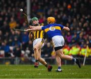 24 February 2019; Martin Keoghan of Kilkenny in action against Padraic Maher of Tipperary during the Allianz Hurling League Division 1A Round 4 match between Tipperary and Kilkenny at Semple Stadium in Thurles, Co Tipperary. Photo by Ray McManus/Sportsfile