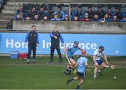24 February 2019; Waterford manager Paraic Fanning gives instructions during the Allianz Hurling League Division 1B Round 4 match between Dublin and Waterford at Parnell Park in Donnycarney, Dublin. Photo by Daire Brennan/Sportsfile