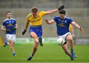 24 February 2019; Enda Smith of Roscommon in action against Conor Moynagh of Cavan during the Allianz Football League Division 1 Round 4 match between Cavan and Roscommon at the Kingspan Breffni Park in Cavan. Photo by Seb Daly/Sportsfile