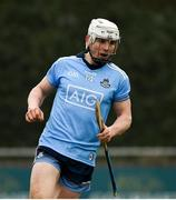 24 February 2019; Liam Rushe of Dublin celebrates after scoring his side's first goal during the Allianz Hurling League Division 1B Round 4 match between Dublin and Waterford at Parnell Park in Donnycarney, Dublin. Photo by Daire Brennan/Sportsfile