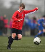 24 February 2019; Luke Flatley of Mayo during the SFAI SUBWAY Liam Miller Cup Championship Final match between Mayo and Cavan/ Monaghan at Mullingar Athletic FC in Gainestown, Mullingar, Co. Westmeath. Photo by Sam Barnes/Sportsfile
