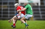 24 February 2019; Patrick Horgan of Cork in action against Tom Condon of Limerick during the Allianz Hurling League Division 1A Round 4 match between Limerick and Cork at the Gaelic Grounds in Limerick. Photo by David Fitzgerald/Sportsfile