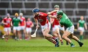 24 February 2019; Conor Lehane of Cork in action against Sean Finn of Limerick during the Allianz Hurling League Division 1A Round 4 match between Limerick and Cork at the Gaelic Grounds in Limerick. Photo by David Fitzgerald/Sportsfile