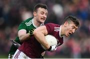 24 February 2019; Johnny Heaney of Galway in action against Tom O'Sullivan of Kerry during the Allianz Football League Division 1 Round 4 match between Galway and Kerry at Tuam Stadium in Tuam, Galway.  Photo by Stephen McCarthy/Sportsfile
