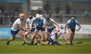 24 February 2019; Callum Lyons of Waterford in action against Shane Barrett of Dublin during the Allianz Hurling League Division 1B Round 4 match between Dublin and Waterford at Parnell Park in Donnycarney, Dublin. Photo by Daire Brennan/Sportsfile