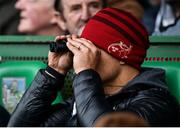 24 February 2019; Cork Senior Hurling High Performance Lead Doug Howlett watches on during the Allianz Hurling League Division 1A Round 4 match between Limerick and Cork at the Gaelic Grounds in Limerick. Photo by David Fitzgerald/Sportsfile