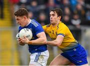 24 February 2019; Ciaran Brady of Cavan in action against David Murray of Roscommon during the Allianz Football League Division 1 Round 4 match between Cavan and Roscommon at the Kingspan Breffni Park in Cavan. Photo by Seb Daly/Sportsfile