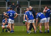 24 February 2019; Laois players look dejected following the Allianz Hurling League Division 1B Round 4 match between Carlow and Laois at Netwatch Cullen Park in Carlow. Photo by Harry Murphy/Sportsfile