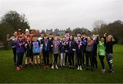 26 February 2019; KILKENNY YOUTH RUN FOR FUN: Vhi, in partnership with the Irish Youth Foundation, celebrated the successful completion of the 'Run for Fun' programme by 20 young people from the Ballycallan Youth Club in Kilkenny this weekend. 'Run for Fun' is a programme developed by Vhi in partnership with the Irish Youth Foundation, to encourage young people living in rural and vulnerable communities in Ireland to embrace the benefits offered through running. 20 young people who took part in the programme were awarded medals at the Kilkenny parkrun on Saturday for taking part in the programme and also completing a 5km parkrun. The group spent eight weeks training, building up their fitness level and learning about healthy eating. As part of the programme, there was also a nutritional element so the young people could learn about and taste healthy food options. The goal throughout the programme was for the young people to complete a 5km parkrun which they did on Saturday 23rd February at Kilkenny parkrun. Photo by Harry Murphy/Sportsfile