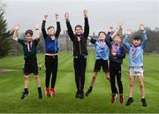 26 February 2019; KILKENNY YOUTH RUN FOR FUN: Vhi, in partnership with the Irish Youth Foundation, celebrated the successful completion of the 'Run for Fun' programme by 20 young people from the Ballycallan Youth Club in Kilkenny this weekend. 'Run for Fun' is a programme developed by Vhi in partnership with the Irish Youth Foundation, to encourage young people living in rural and vulnerable communities in Ireland to embrace the benefits offered through running. 20 young people who took part in the programme were awarded medals at the Kilkenny parkrun on Saturday for taking part in the programme and also completing a 5km parkrun. The group spent eight weeks training, building up their fitness level and learning about healthy eating. As part of the programme, there was also a nutritional element so the young people could learn about and taste healthy food options. The goal throughout the programme was for the young people to complete a 5km parkrun which they did on Saturday 23rd February at Kilkenny parkrun. pictured are Jake O'Brien, Ryan Corcoran, James Casey, Dean O'Brien, Ryan Cody and Geoff Newry. Photo by Harry Murphy/Sportsfile
