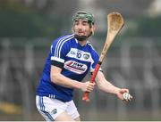 24 February 2019; Aaron Dunphy of Laois during the Allianz Hurling League Division 1B Round 4 match between Carlow and Laois at Netwatch Cullen Park in Carlow. Photo by Harry Murphy/Sportsfile