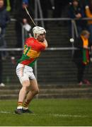 24 February 2019; Martin Kavanagh of Carlow during the Allianz Hurling League Division 1B Round 4 match between Carlow and Laois at Netwatch Cullen Park in Carlow. Photo by Harry Murphy/Sportsfile