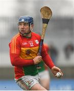 24 February 2019; Seamus Murphy of Carlow during the Allianz Hurling League Division 1B Round 4 match between Carlow and Laois at Netwatch Cullen Park in Carlow. Photo by Harry Murphy/Sportsfile