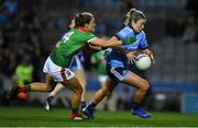 23 February 2019; Siobhán Killeen of Dublin in action against Danielle Caldwell of Mayo during the Lidl Ladies NFL Division 1 Round 3 match between Dublin and Mayo at Croke Park in Dublin. Photo by Ray McManus/Sportsfile