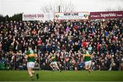 24 February 2019; Spectators watch on during the Allianz Football League Division 1 Round 4 match between Galway and Kerry at Tuam Stadium in Tuam, Galway.  Photo by Stephen McCarthy/Sportsfile