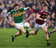 24 February 2019; Tomás Ó Sé of Kerry during the Allianz Football League Division 1 Round 4 match between Galway and Kerry at Tuam Stadium in Tuam, Galway.  Photo by Stephen McCarthy/Sportsfile