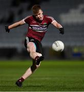 20 February 2019; Ryan McCusker of St  Mary's during the Electric Ireland HE GAA Sigerson Cup Final match between St Mary's University College Belfast and University College Cork at O'Moore Park in Portlaoise, Laois. Photo by Piaras Ó Mídheach/Sportsfile