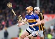24 February 2019; Padraic Maher of Tipperary in action against Liam Blanchfield of Kilkenny during the Allianz Hurling League Division 1A Round 4 match between Tipperary and Kilkenny at Semple Stadium in Thurles, Co Tipperary. Photo by Ray McManus/Sportsfile