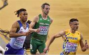 1 March 2019; Thomas Barr of Ireland, competing in the Men's 400m event during day one of the European Indoor Athletics Championships at Emirates Arena in Glasgow, Scotland. Photo by Sam Barnes/Sportsfile