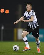 25 February 2019; Chris Shields of Dundalk during the SSE Airtricity League Premier Division match between Dundalk and UCD at Oriel Park in Dundalk, Co Louth. Photo by Eóin Noonan/Sportsfile