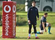 1 March 2019; Joey Carbery during a Ireland Rugby squad open training session at Queen's University in Belfast, Antrim. Photo by Oliver McVeigh/Sportsfile