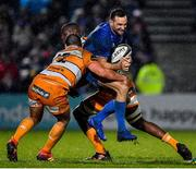 1 March 2019; Dave Kearney of Leinster is tackled by Dries Swanepoel and Abongile Nonkontwana of Toyota Cheetahs during the Guinness PRO14 Round 17 match between Leinster and Toyota Cheetahs at the RDS Arena in Dublin. Photo by Brendan Moran/Sportsfile
