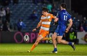 1 March 2019; Benhard Janse van Rensburg of Toyota Cheetahs in action against Conor O'Brien of Leinster during the Guinness PRO14 Round 17 match between Leinster and Toyota Cheetahs at the RDS Arena in Dublin. Photo by Brendan Moran/Sportsfile