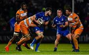 1 March 2019; Caelan Doris of Leinster is tackled by JP du Preez of Toyota Cheetahs during the Guinness PRO14 Round 17 match between Leinster and Toyota Cheetahs at the RDS Arena in Dublin. Photo by Ramsey Cardy/Sportsfile