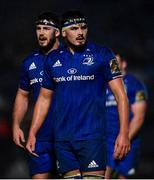 1 March 2019; Max Deegan, right, and Caelan Doris of Leinster during the Guinness PRO14 Round 17 match between Leinster and Toyota Cheetahs at the RDS Arena in Dublin. Photo by Ramsey Cardy/Sportsfile