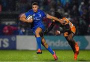 1 March 2019; Dave Kearney of Leinster is tackled by Rabz Maxwane of Toyota Cheetahs during the Guinness PRO14 Round 17 match between Leinster and Toyota Cheetahs at the RDS Arena in Dublin. Photo by Brendan Moran/Sportsfile