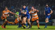 1 March 2019; Conor O'Brien of Leinster makes a break through the Cheetahs defence during the Guinness PRO14 Round 17 match between Leinster and Toyota Cheetahs at the RDS Arena in Dublin. Photo by Brendan Moran/Sportsfile