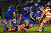 1 March 2019; Dave Kearney of Leinster is tackled by Dries Swanepoel of Toyota Cheetahs during the Guinness PRO14 Round 17 match between Leinster and Toyota Cheetahs at the RDS Arena in Dublin. Photo by Brendan Moran/Sportsfile