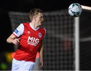 1 March 2019; Chris Forrester of St Patrick's Athletic during the SSE Airtricity League Premier Division match between UCD and St Patrick's Athletic at the UCD Bowl in Belfield, Dublin. Photo by Piaras Ó Mídheach/Sportsfile